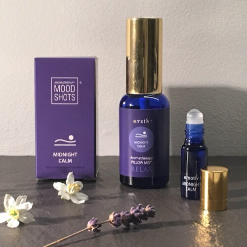 Emotiv Aromatherapy MIDNIGHT CALM Deep relaxation aromatherapy blends for night time