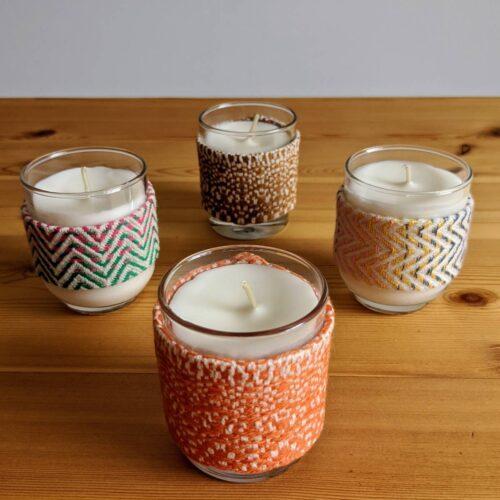 Mini Glass Jar Candles