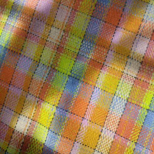 Ali Sharman Handweaver Howgill Cloth colourful tweed