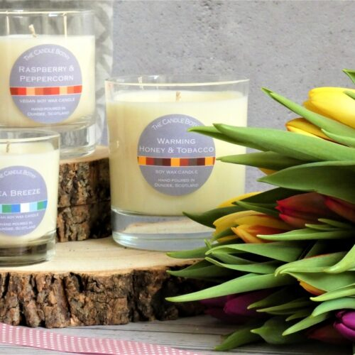 Spring candles The Candle Bothy from £6.50