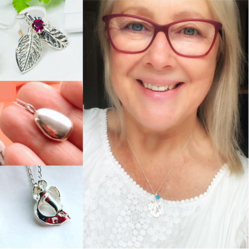 silver necklaces with anna