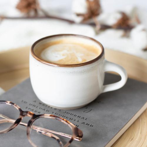 Rachel Carpenter Ceramics, White Mug Coffee