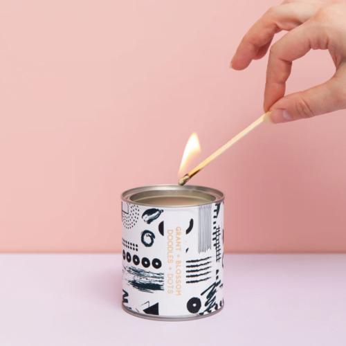 Grant + Blossom Doodles + Dots Candle Pot