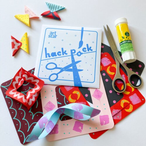 Art Star Hack Pack Freestyle Paper Craft Kit