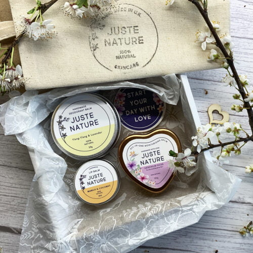 Juste Nature SELF CARE MINI SET, Gift Set, Handmade natural skincare