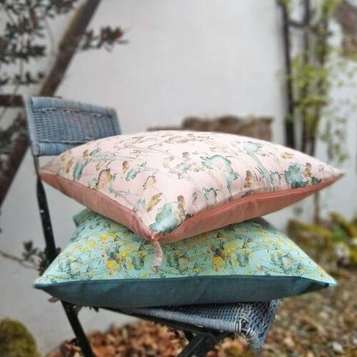 Eynonymous Designs, Floral Cushion