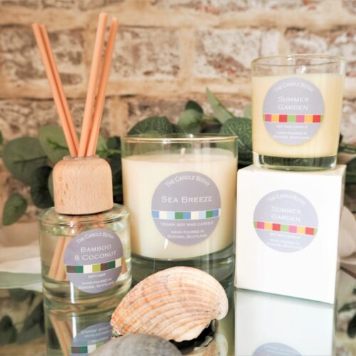 The Candle Bothy summer scents
