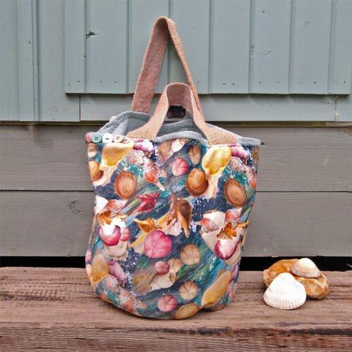 eynonymous designs, Velvet shell design bag