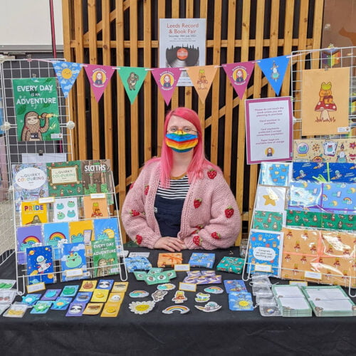 Leeds Young Traders Stall June 2021