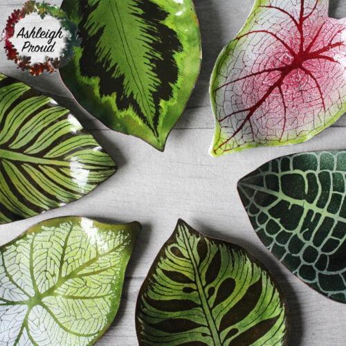 Houseplant Trinket Dishes